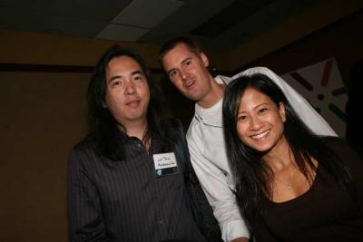 The Diazes: Mackenzie Cutler's Jun, Creativity's Ann and non-Diaz Jesse Coulter, of W+K/N.Y. (photo: Doug Goodman)