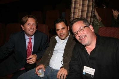 Matt Miller, Steve Caplan and Rich Carter of Gartner (photo: Doug Goodman)