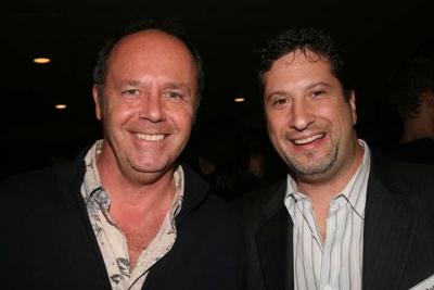 Roy Skillicorn (Backyard Productions) and Adam Gold (photo: Doug Goodman)