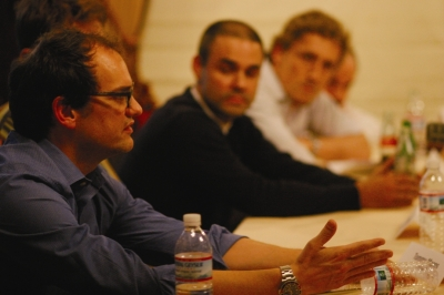 From Left: Mekanism's Tommy Means, Patrick Milling Smith and Ian Kovalik
