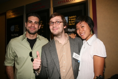 Waverly Films' Matthew Santo, Christopher Ford and Tricia Lee.