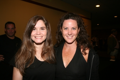Creativity's Teressa Iezzi and Allison Kunzman of Smuggler.