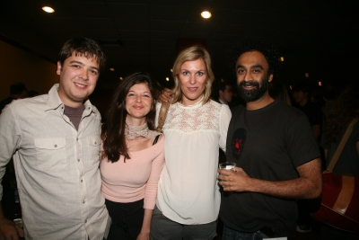 Matt Mattingly of BBDO, New York, Ariana Angotti of Quantum Films, Gisela Knijnenburg and Ugly Pictures' Ro Rao.