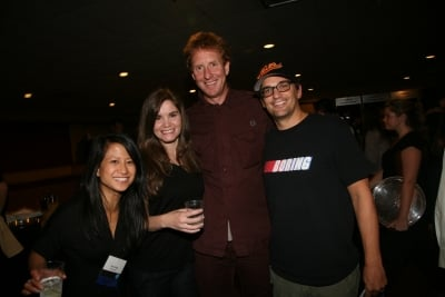 Ann-Christine Diaz and Teressa Iezzi of Creativity, Furlined/Blink's James Studholme and Mekanism director Tommy Means