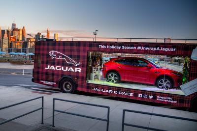 Jaguar put an SUV inside a bus for a promotion