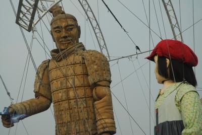 J&J Terracotta puppet show in Beijing