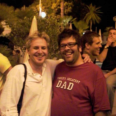 P.J. Pereira (AKQA) and Steve Mykolyn (Taxi)