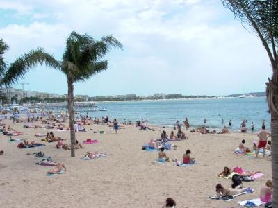 Tuesday made a good beach day