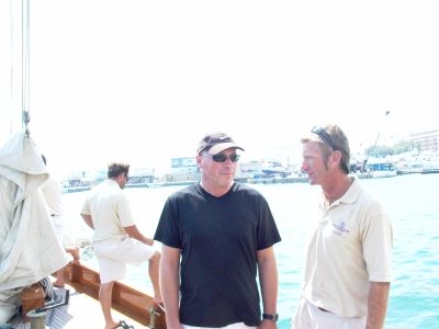 W+K/Amsterdam MD Tim O'Kennedy talks shop with the captain