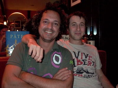 Maxi Anselmo and Seba Wilhelm of Buenos Aires' one-and-only Santo