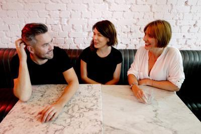 Nils Leonard, Lucy Jameson, Natalie Graeme
