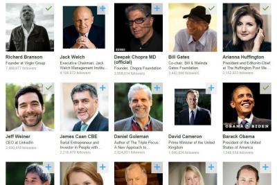 LinkedIn's Influencer network.
