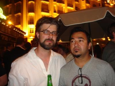 Lowe/N.Y.'s Raj Kamble and Stephen Lundberg. Where have you seen these guys before?