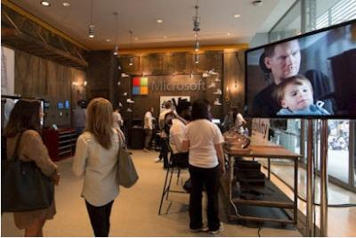 The Microsoft Garage at the TimesCenter during Advertising Week 2014 in New York