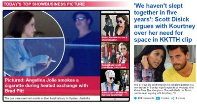 MailOnline wins the internet partly with its celebrity news.