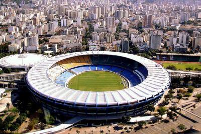 Maracana Stadium in Rio de Janeiro.