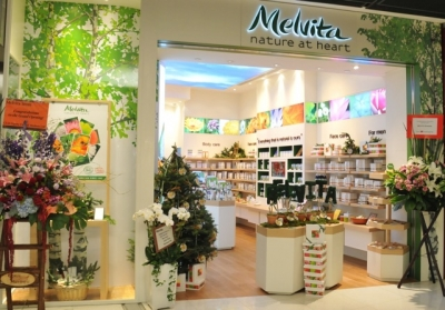 L'Occitane is introducing Melvita to Asian consumers with a store in Hong Kong's IFC mall