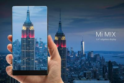 Xiaomi's Mi Mix phone, available in limited quantities