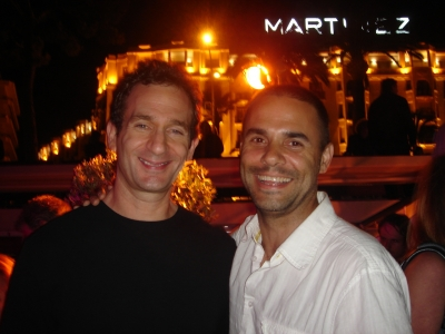 Is it hot out here? No, that's just New York creative: BBDO N.A. Chairman/CCO David Lubars and TBWA/Chiat/Day/NY ECD Gerry Graf.