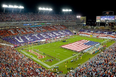 The NFL's Salute to Service.