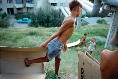 Boy and Box by David Gray