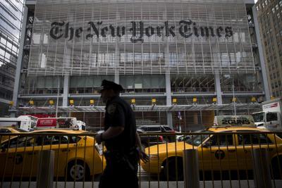 Times headquarters in Manhattan.