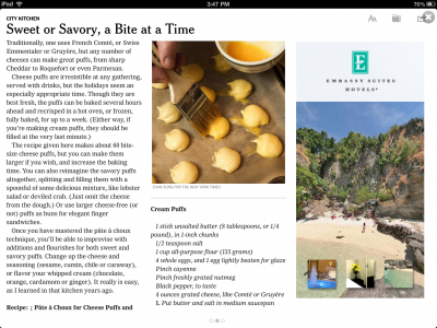 A demo of one new iPad ad unit lets reads pan around a resort.