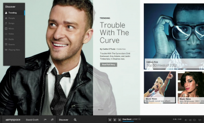 Specific Media -- and pop star Justin Timberlake -- bought Myspace for $35 million in 2011.