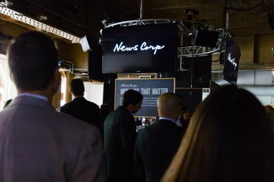 News Corp.'s casual NewFront affair