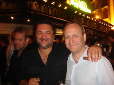 Saaatchi/Sydney's Nobby aka David Nobay and Y&R's Rowan Chanen