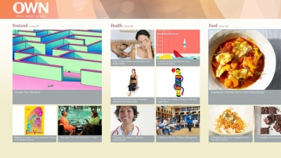 The Oprah Winfrey Network is releasing an app for Windows 8.
