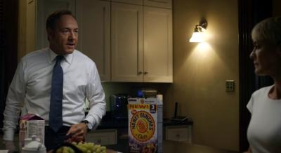 A product placement Corbis said it arranged in Netflix's 'House of Cards