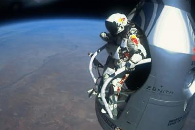 Red Bull's Stratos space jump