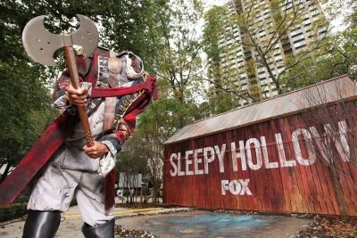 A Headless Horseman in New York City