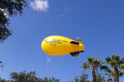 Scoot's blimp