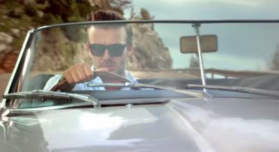 A Jaguar video starring David Beckham spread on Weibo.