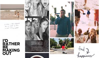 'Summer Break' page on Tumblr