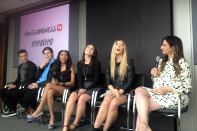 Seventeen Magazine Editor-in-Chief Ann Shoket hosts a panel of young YouTube and Vine personalities.