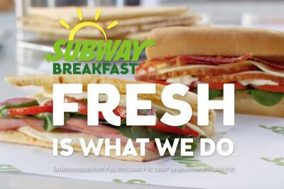 See the Spot: Subway Using Deja Vu Deal for Breakfast Boost