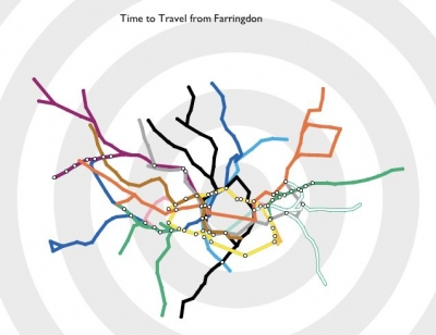Time Travel Tube Map.