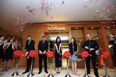 Opening the Tofu Boutique at the JW Marriott Shenzhen