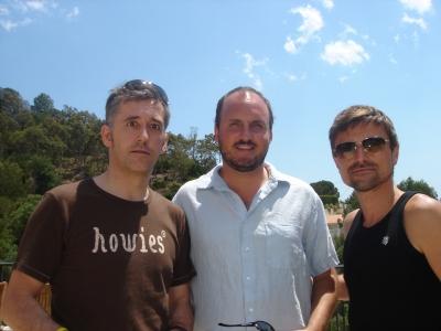 International men of mystery: WK/London's Tony Davidson and Amsterdam's Joakim Borgstrom and Al Moseley