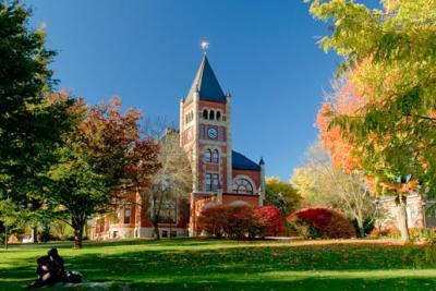 The University of New Hampshire.