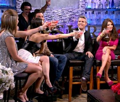 A reunion episode of 'Vanderpump Rules' on Bravo