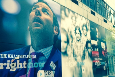 The Wall Street Journal made its NewFront presentation Friday.