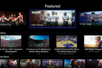 Dick's Sporting Goods aired its 'Hell Week' docu-series within WatchESPN