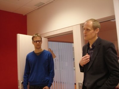 Forsman and Bodenfors' Johan Olivero-Reinius (left) and Jacob Nelson