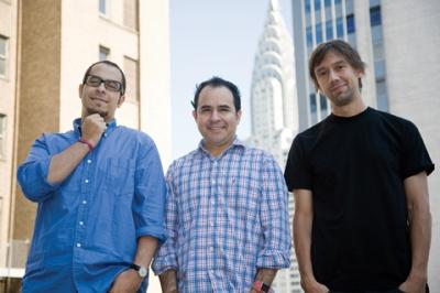 From left: Doria, Morales and Vega