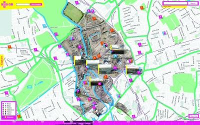 Stamen Design: London 2012 Olympic Park map