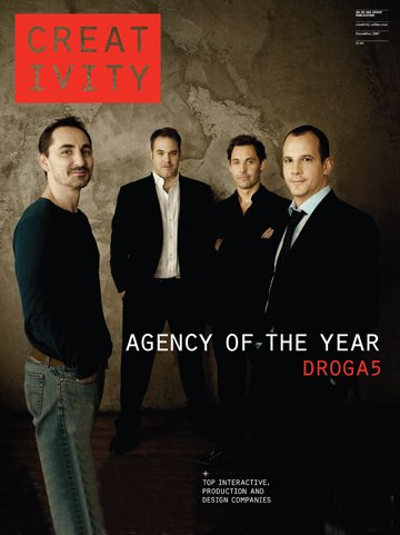 Front Left: David Droga, Ted Royer, Duncan Marshall and Andrew Essex